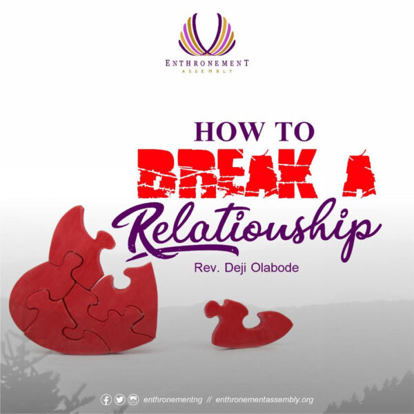 how to break a relationship