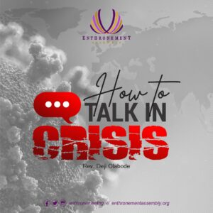 How To Talk In A Crises